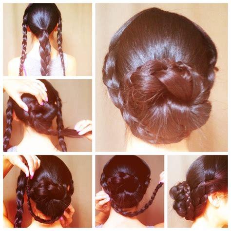 diy hairstyles braided look wonderful diy braided chain hairstyle