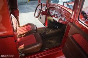 Volvo Upholstery 1930 Ford Model A Pickup Model Custom Rod Rods Retro