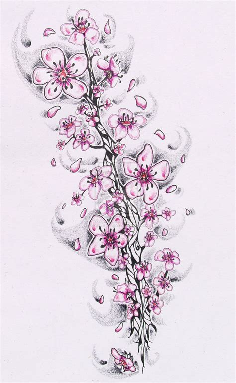 cherry blossom sketches on pinterest cherry blossom