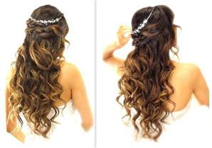 wedding updo hairstyles easy updo hairstyles easy wedding half updo hairstyle with curls bridal hairstyles for long medium hair youtube