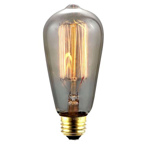 lighting 40 w incandescent e26 vintage edison