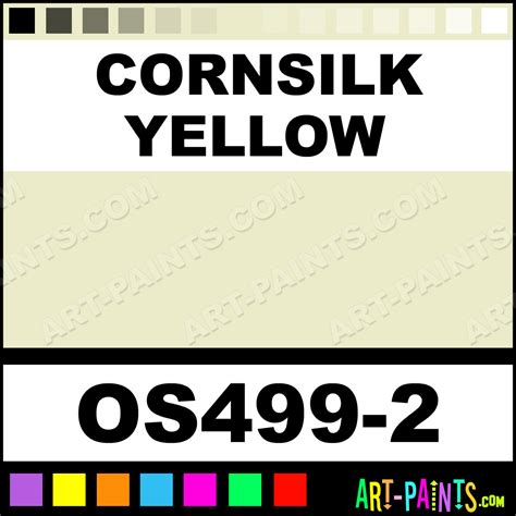cornsilk color cornsilk yellow bisque stain ceramic paints os499 2