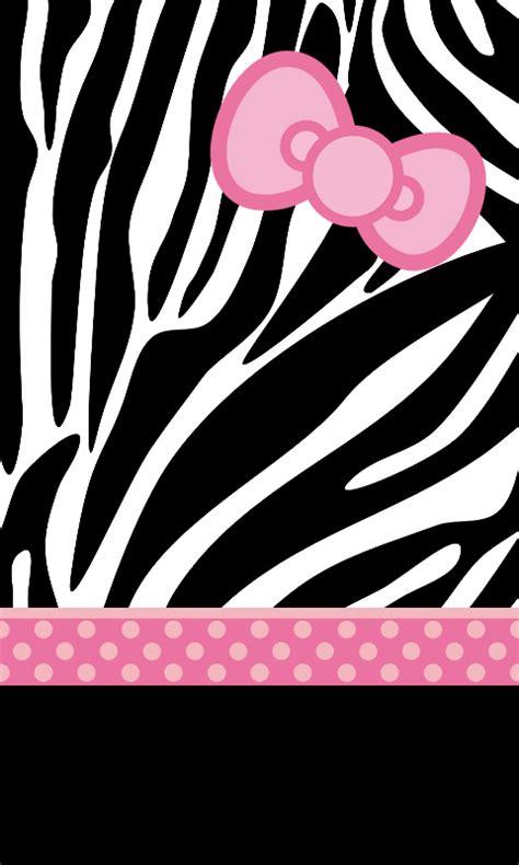 hello kitty zebra print wallpaper pink hello kitty wallpaper zebra www pixshark com