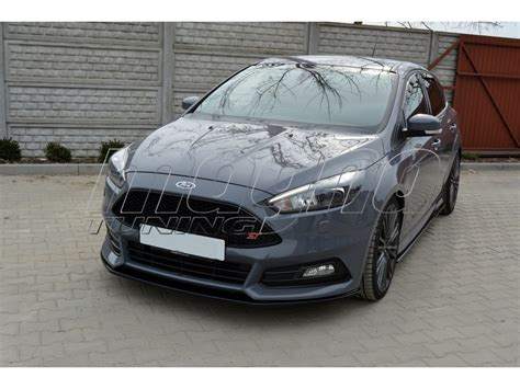 ford focus  st facelift nx front bumper extension