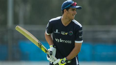 aussie cricketer hits  sixes