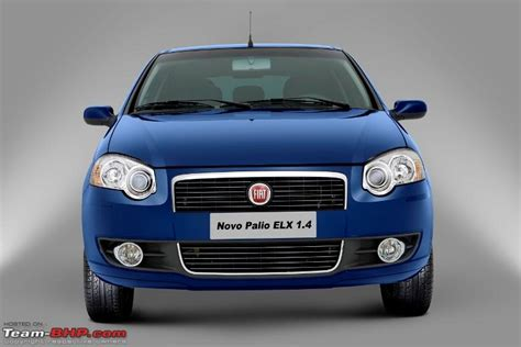 new fiat palio new fiat palio 2009 launched in brazil team bhp