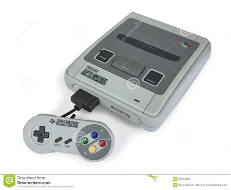 nintendo gaming console nintendo console editorial stock photo image