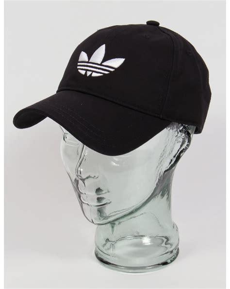 Baseball Hat Black adidas originals trefoil cap black white baseball hat mens