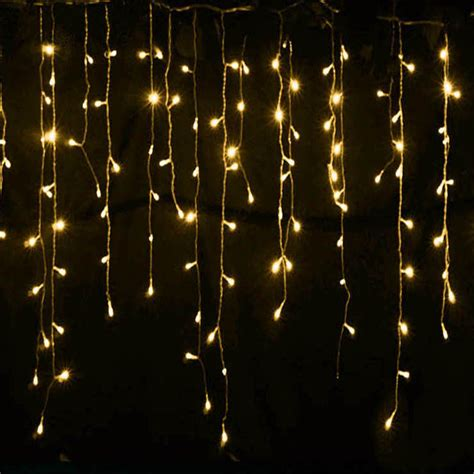 curtain led lights sale new year hot sale 5m droop 0 4 0 6m curtain icicle led