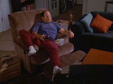 george costanza couch lazy gifs find share on giphy