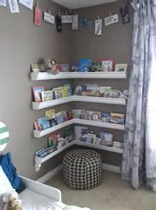 Gutter Bookshelves Corner Vinyl Gutters For Book Shelves Such A Cozy Reading