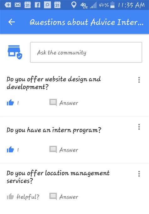 google images questions new google my business feature community q a coming to maps