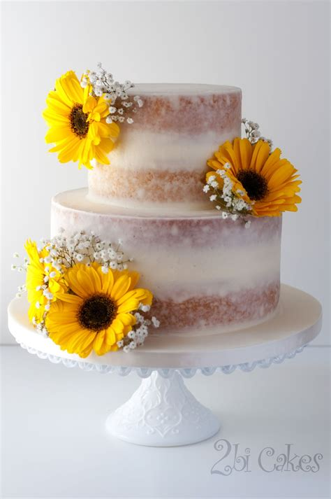 Rustic Baby Shower Decorations Sunflower Cake Cakecentral Com