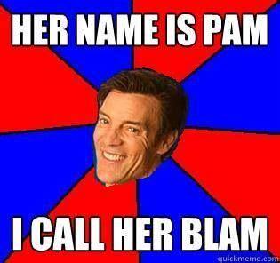 Pamela Meme - pam blam pam the blam tony horton pinterest