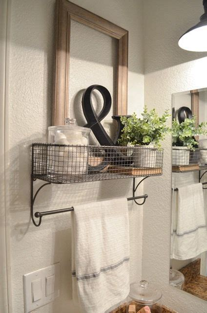 bathroom towel rack decorating ideas best 25 decorating bathrooms ideas on guest