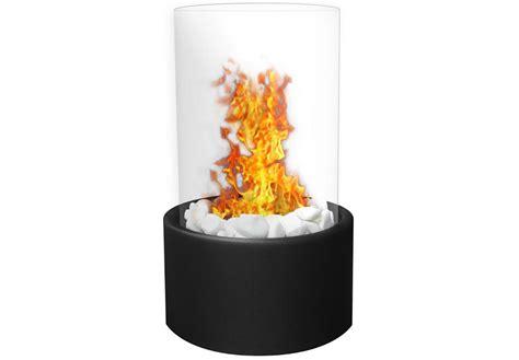 moda ghost tabletop firepit ethanol fireplace black