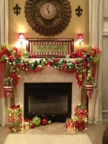 Christmas Fireplace Decorating Ideas Fireplace Mantel Decorating Christmas Decor Pinterest