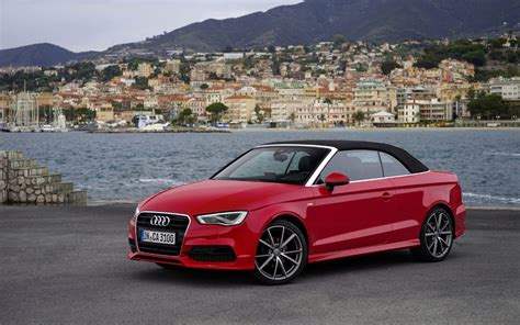 convertible audi red audi a3 cabriolet 2014 wallpaper 1087094