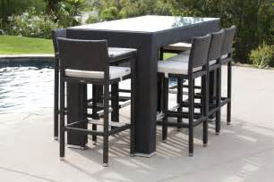 Garden Bar Table What Are The Advantages Of Getting An Outdoor Bar Furniture Decorifusta