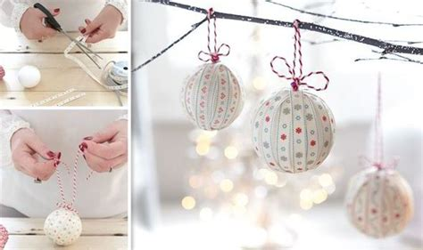 hand making home decoration handmade christmas decorations that are easy to make