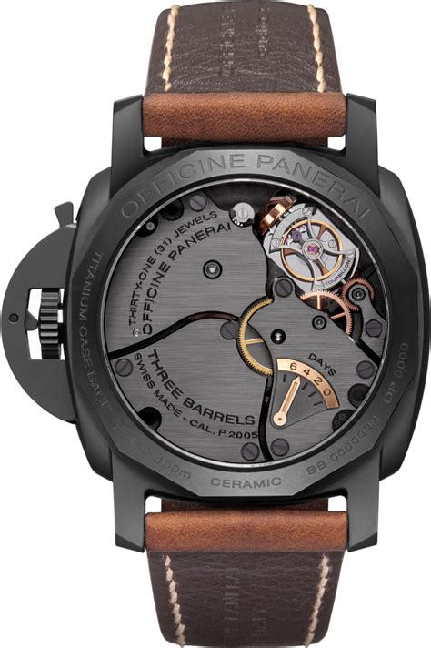 Luminor Panerai Turbilon Angka Black 1 presentation of new panerai at the exhibition sihh 2012 a luminor 1950 tourbillon