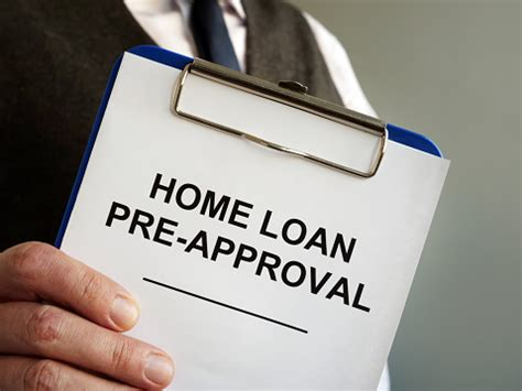 home loan pre approval  mortgage documents   hands