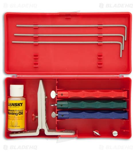 lansky lkc03 lansky standard sharpening system lkc03 blade hq