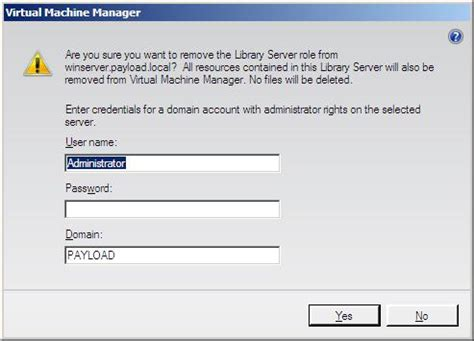 Remove L Server by Managing Vmm 2008 Library Servers Virtuatopia
