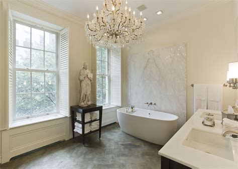 tara shaw interior design bathroom new york brown stone