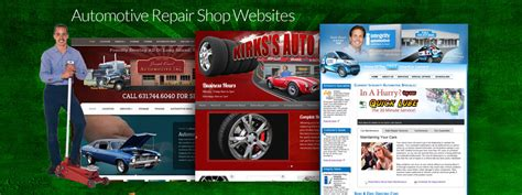 When Search For Your Clients Repair Business Auto Repair Shop Websites Web Design By Brian Sniff