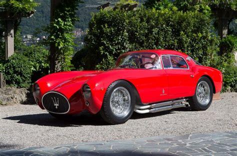 maserati pininfarina vintage 1954 maserati a6gcs 53 berlinetta supercars net