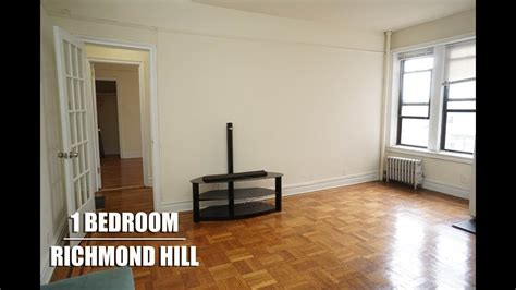 bedroom apartment  rent  richmond hill queens nyc youtube