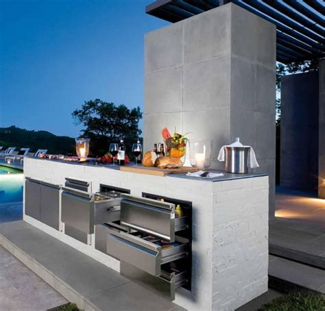 picture of cool outdoor kitchen designs 56 cool outdoor kitchen designs digsdigs