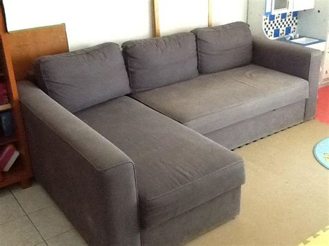 sofa bed l shape l shaped sofa bed roll the image to zoom ikea l shaped
