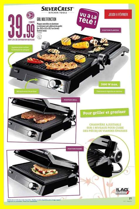 Grille Lidl by Plancha Grill Silvercrest Lidl