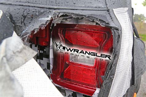 jeep renegade tail lights 2018 jeep wrangler jl jlu leaked photos blind spot
