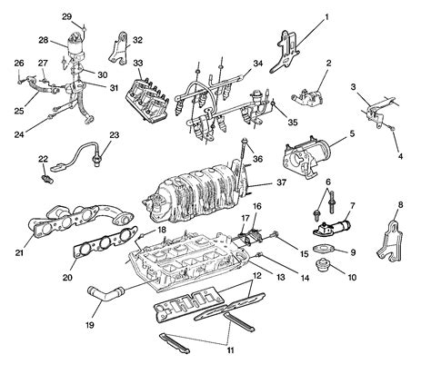 3800 Series Ii Supercharged Engine Diagram Fuel Injector