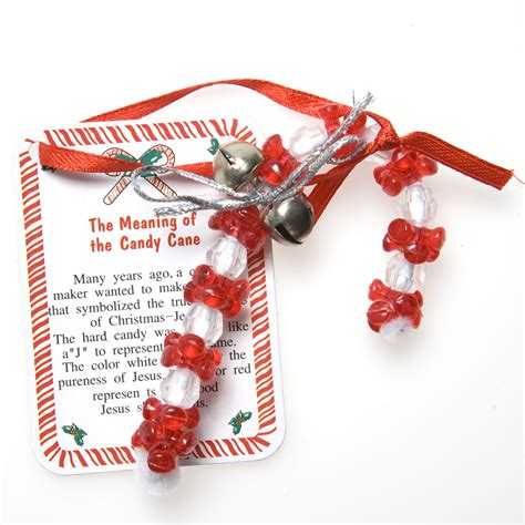 christian candy cane ornament craft kits
