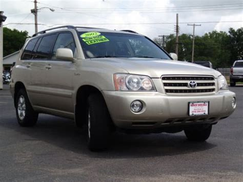 Used Toyota Highlander In Usa Sell Used 2002 Toyota Highlander Limited In 535 N 6th St