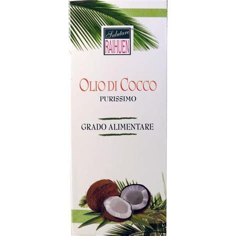 olio di cocco alimentare olio di cocco puro per la cura di capelli e pelle anche