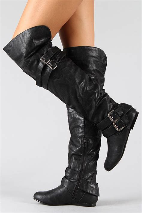 best 25 thigh high boots flat ideas on suede