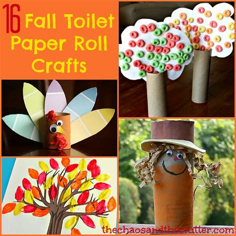 Crafts To Do With Toilet Paper Rolls - 16 fall toilet paper roll crafts