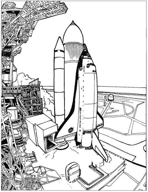 rocket launch coloring page kids n fun 25 kleurplaten van ruimtevaart