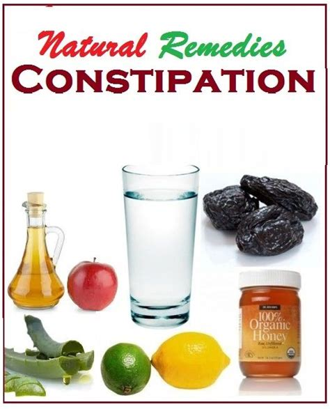 home remedies for constipation safety