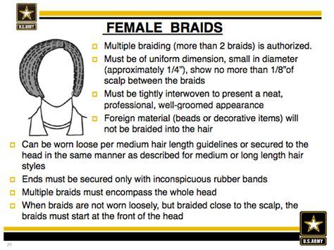 female hair regulations army short ar 670 1 part hair newhairstylesformen2014 com