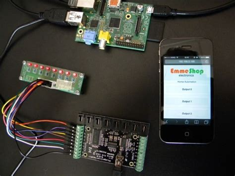 raspberry pi projects home automation code