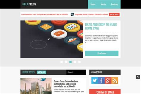 templateclue premium blogger templates 18 elegant responsive premium blogger templates