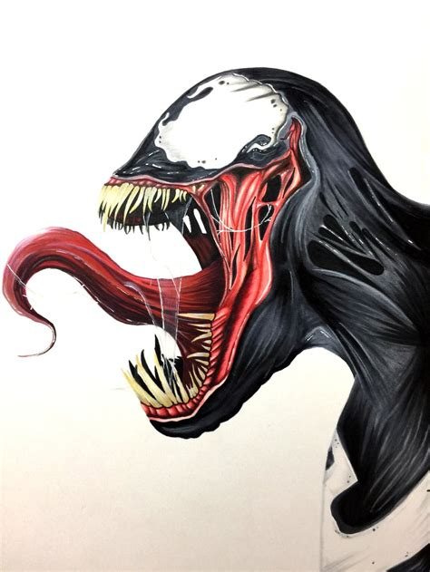 Drawing Venom by Venom The Gear Guide