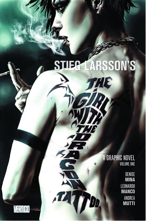dragon tattoo napier girl with the dragon tattoo graphic novel on the way