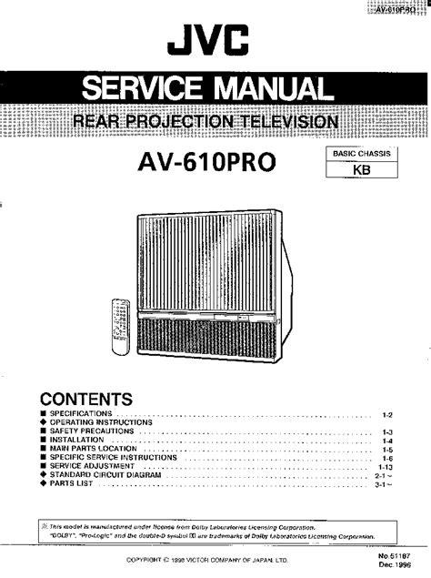 jvc kdr wiring diagram